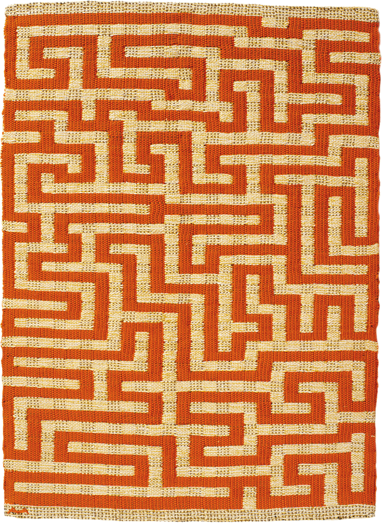 Red Meander, 1954, by Anni Albers