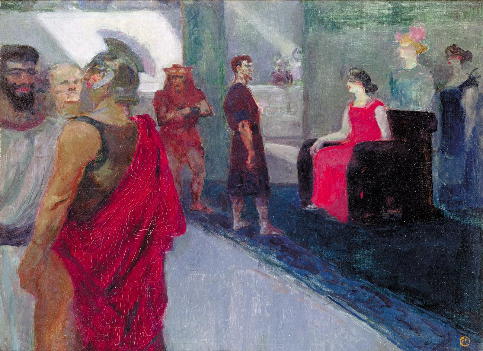 Henri de Toulouse-Lautrec's Messalina, 1900