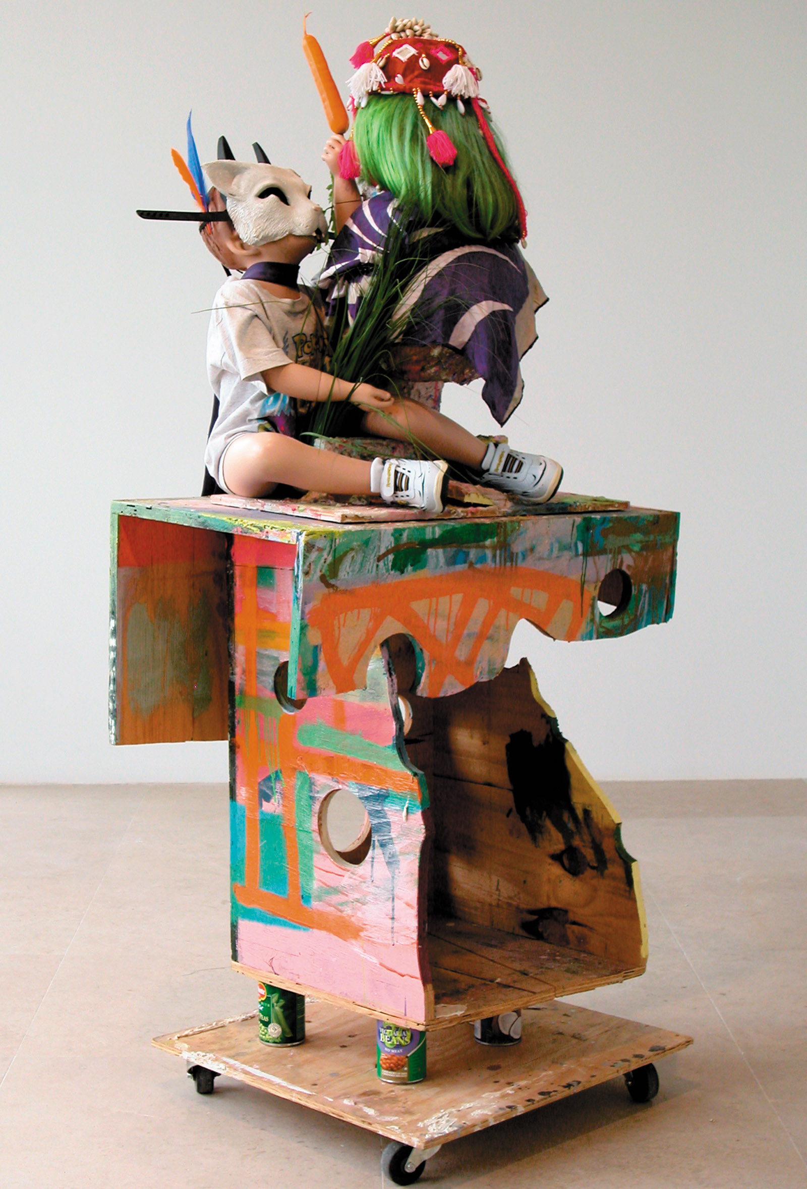 I'm with Stupid, 2007; a sculpture by Rachel Harrison