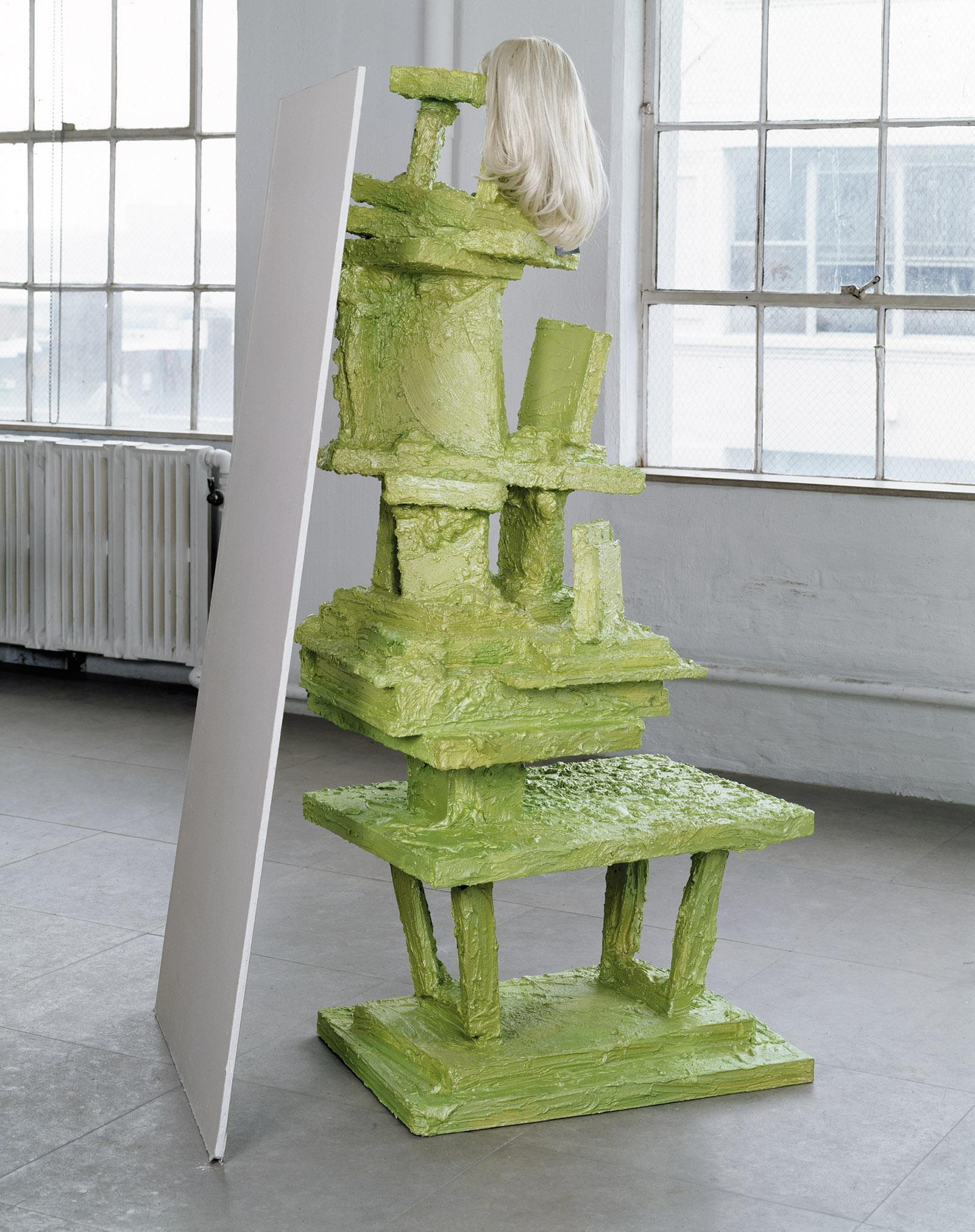 Cindy, 2004; a sculpture by Rachel Harrison