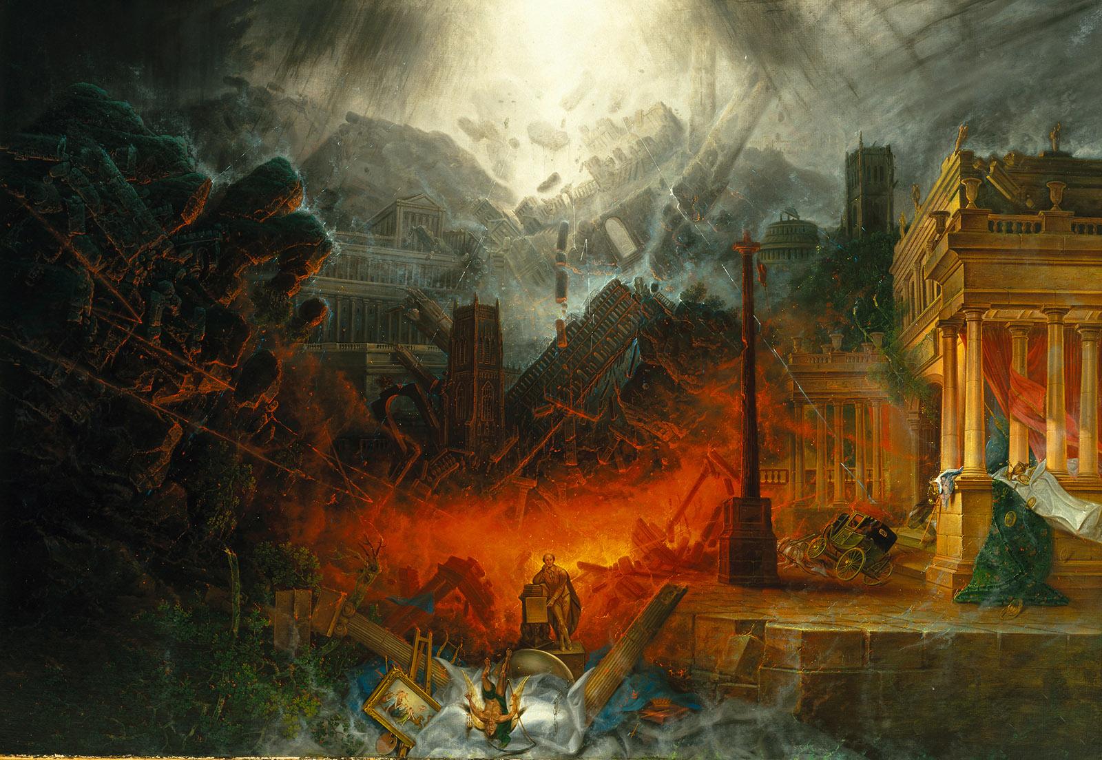 Edge of Doom painting