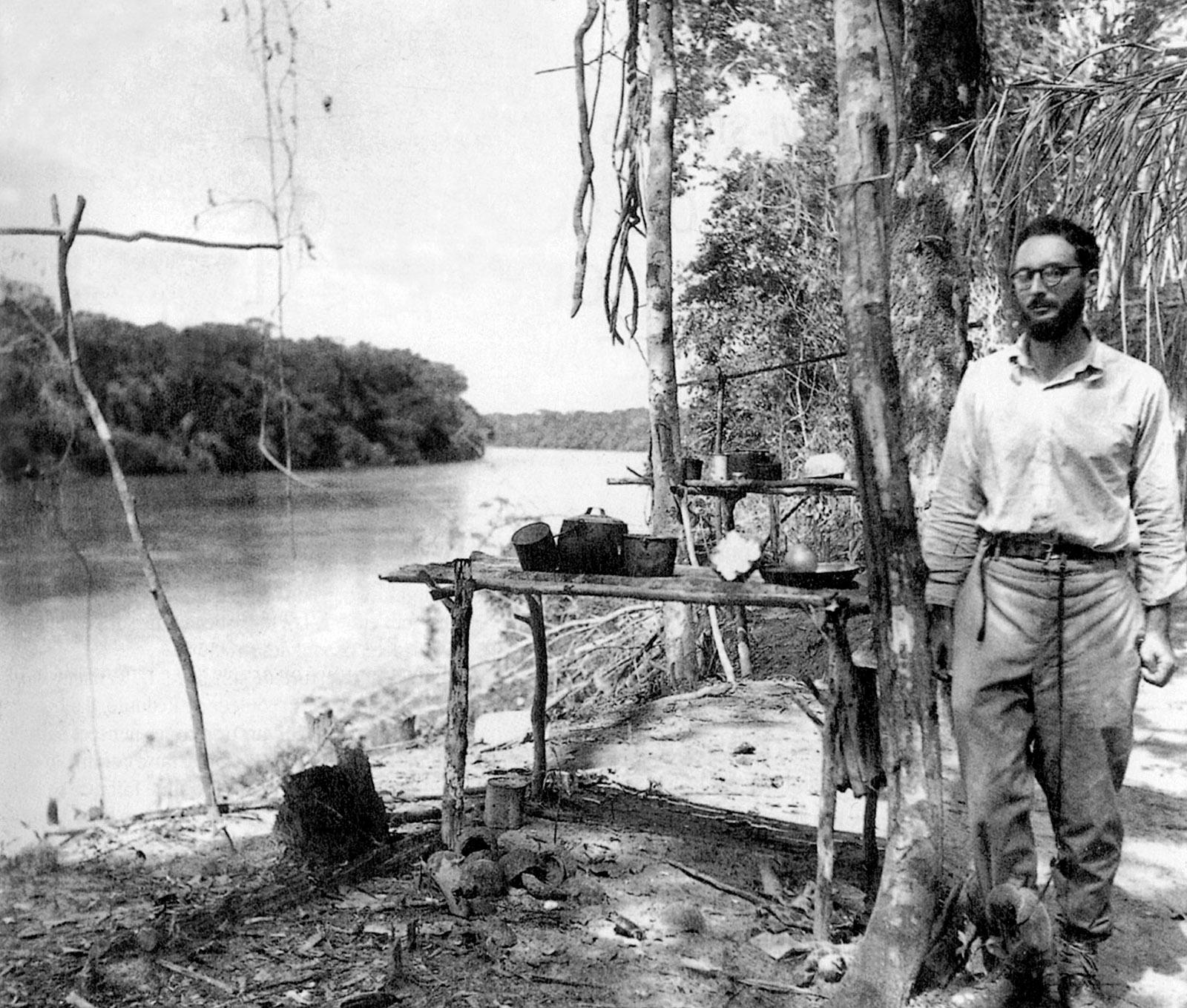 Claude Lévi-Strauss in Brazil, circa 1936