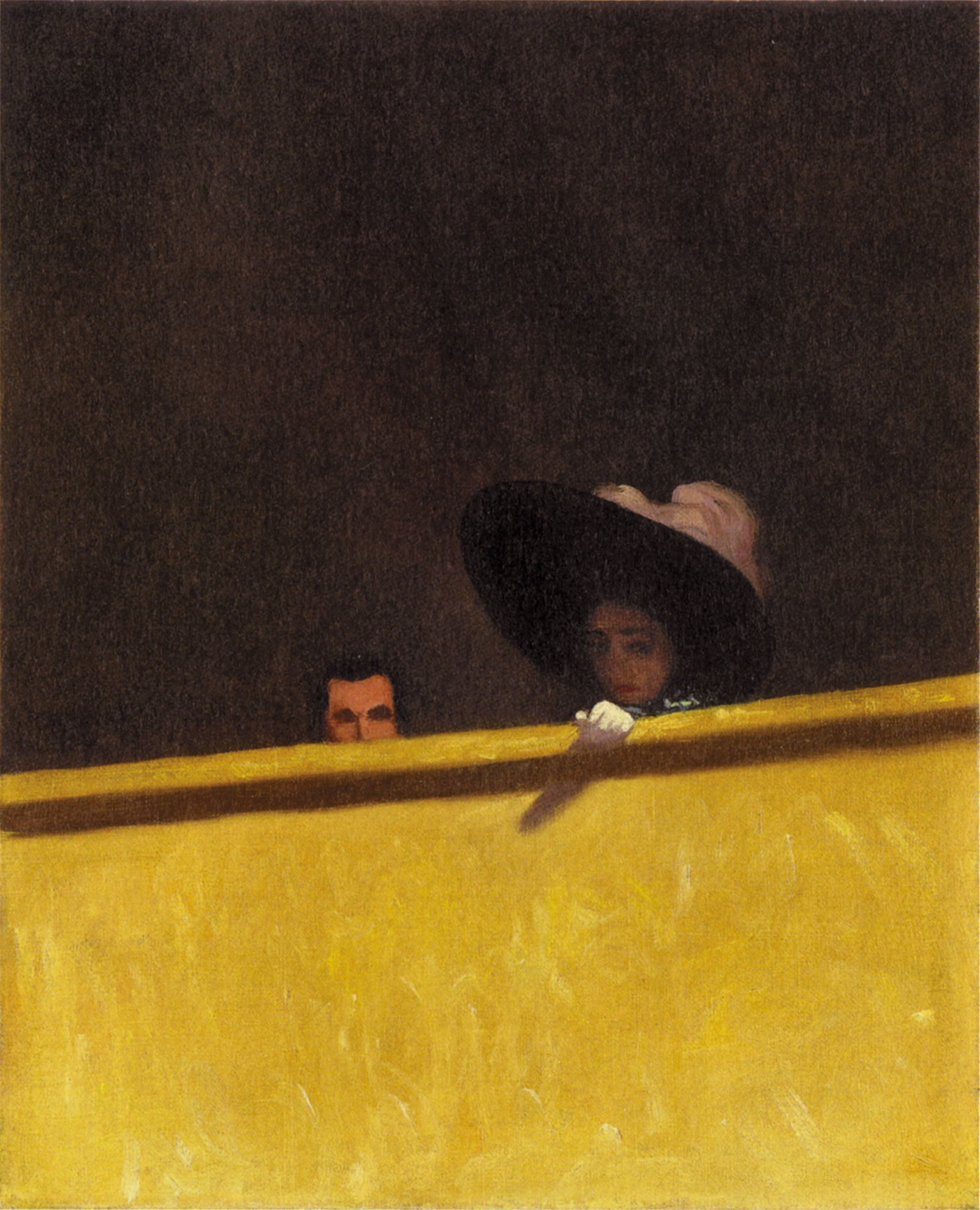 The Theatre Box by Félix Vallotton, 1909