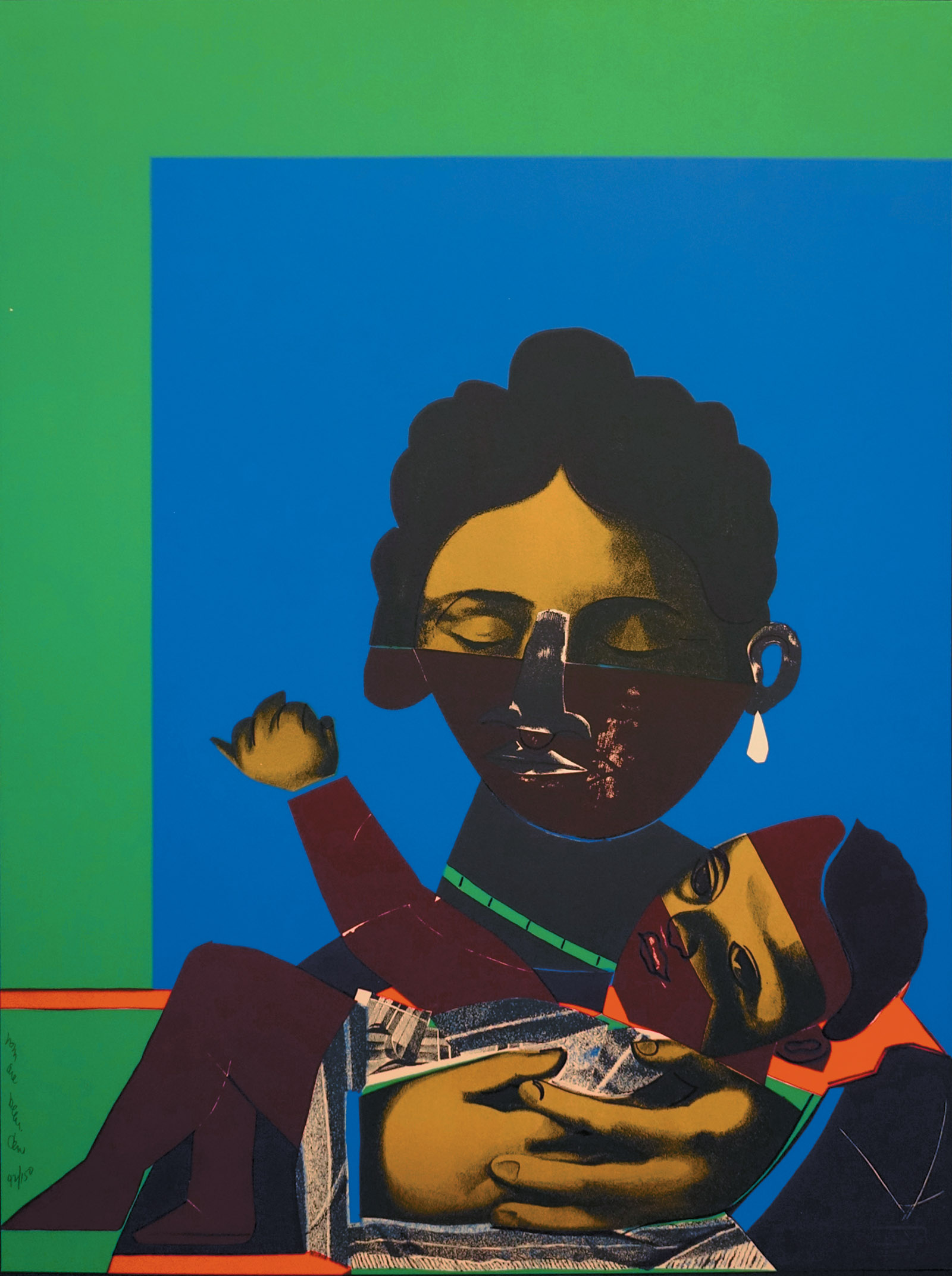 Mother and Child by Romare Bearden, 1971