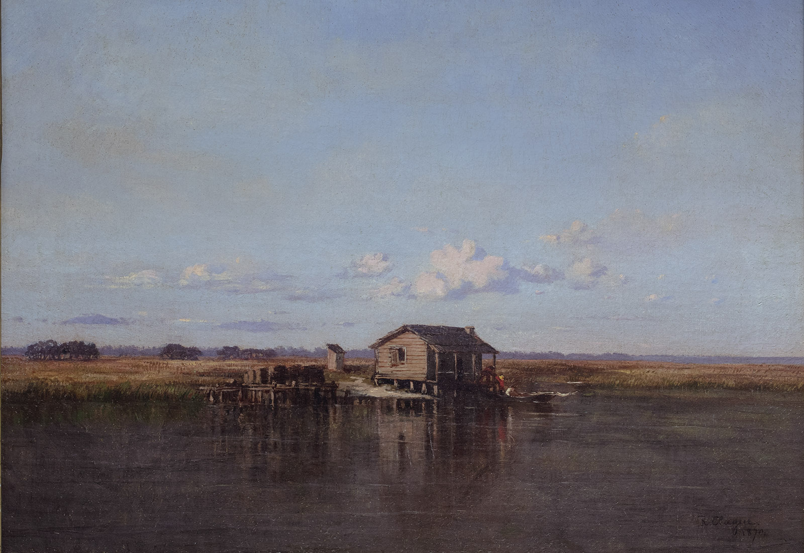 Louisiana Landscape Painting Sublime Swampland The New York