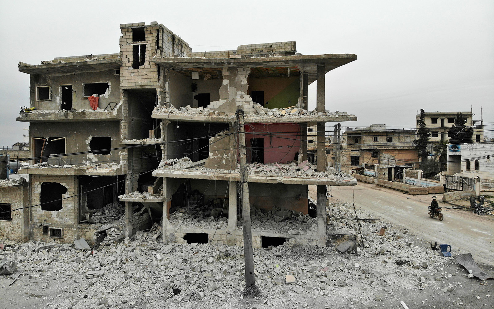 Ruins of war in Syria