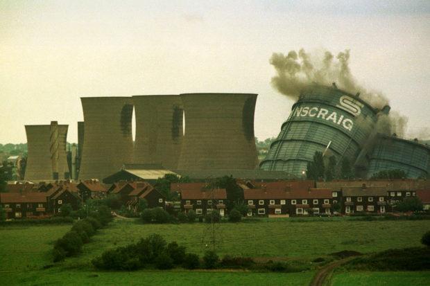 Scotland - Ravenscraig - Demolition