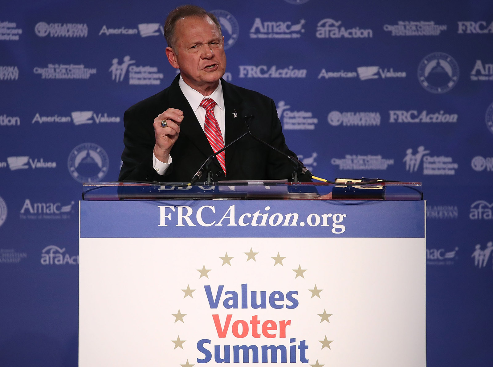 Roy Moore at the 2017 Values Voter Summit