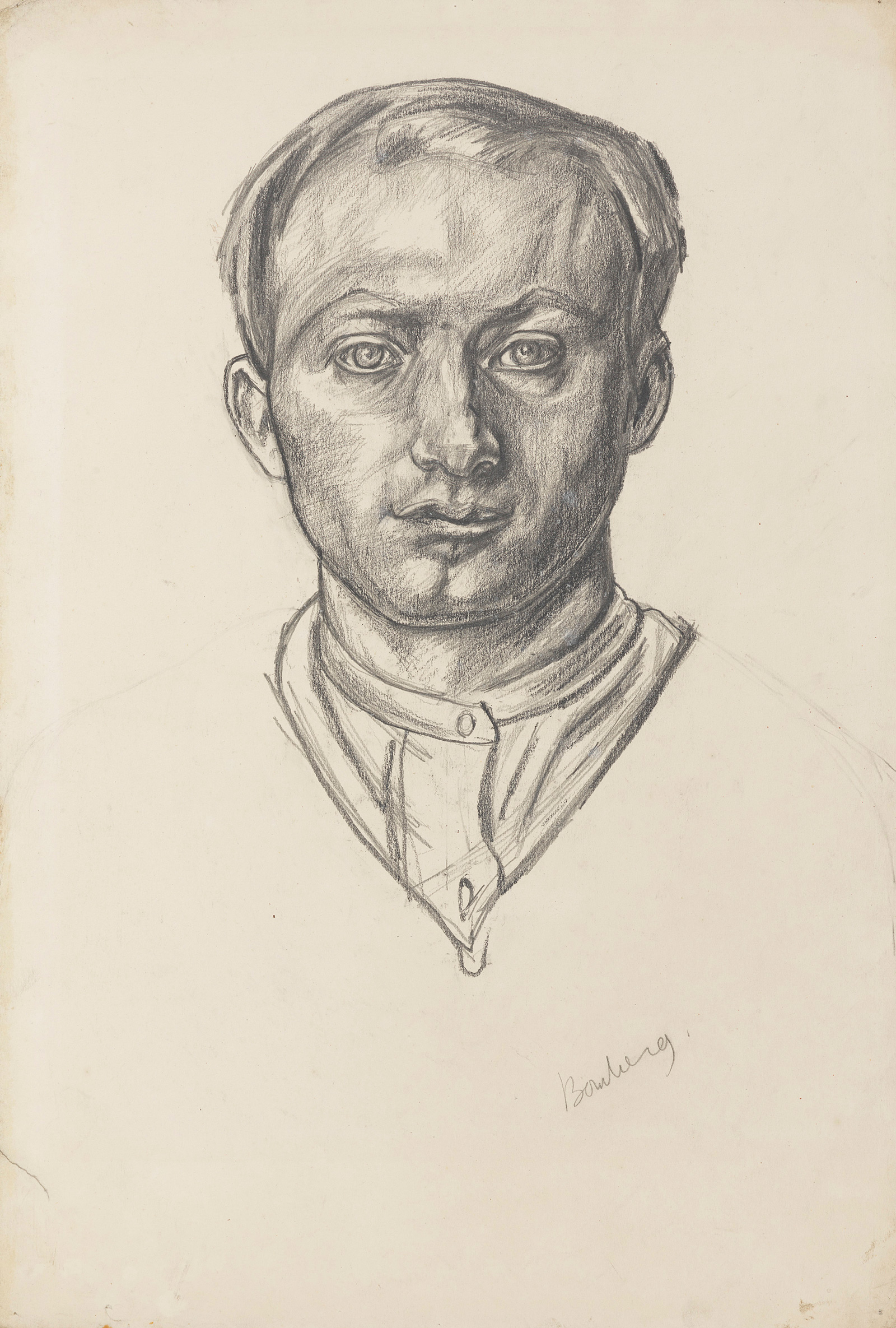 bomberg-self-portrait