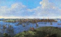 John Smibert: A View of Boston, 1738