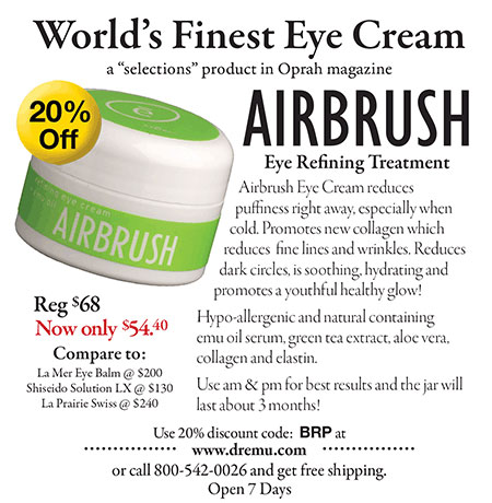 Ad for Airbrush Eye Refining Treatment