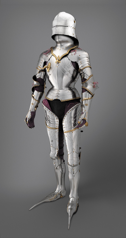 Field armor of Maximilian I; made by Lorenz Helmschmid, circa 1480