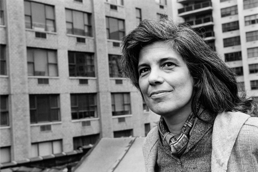 Susan Sontag, New York City, 1979