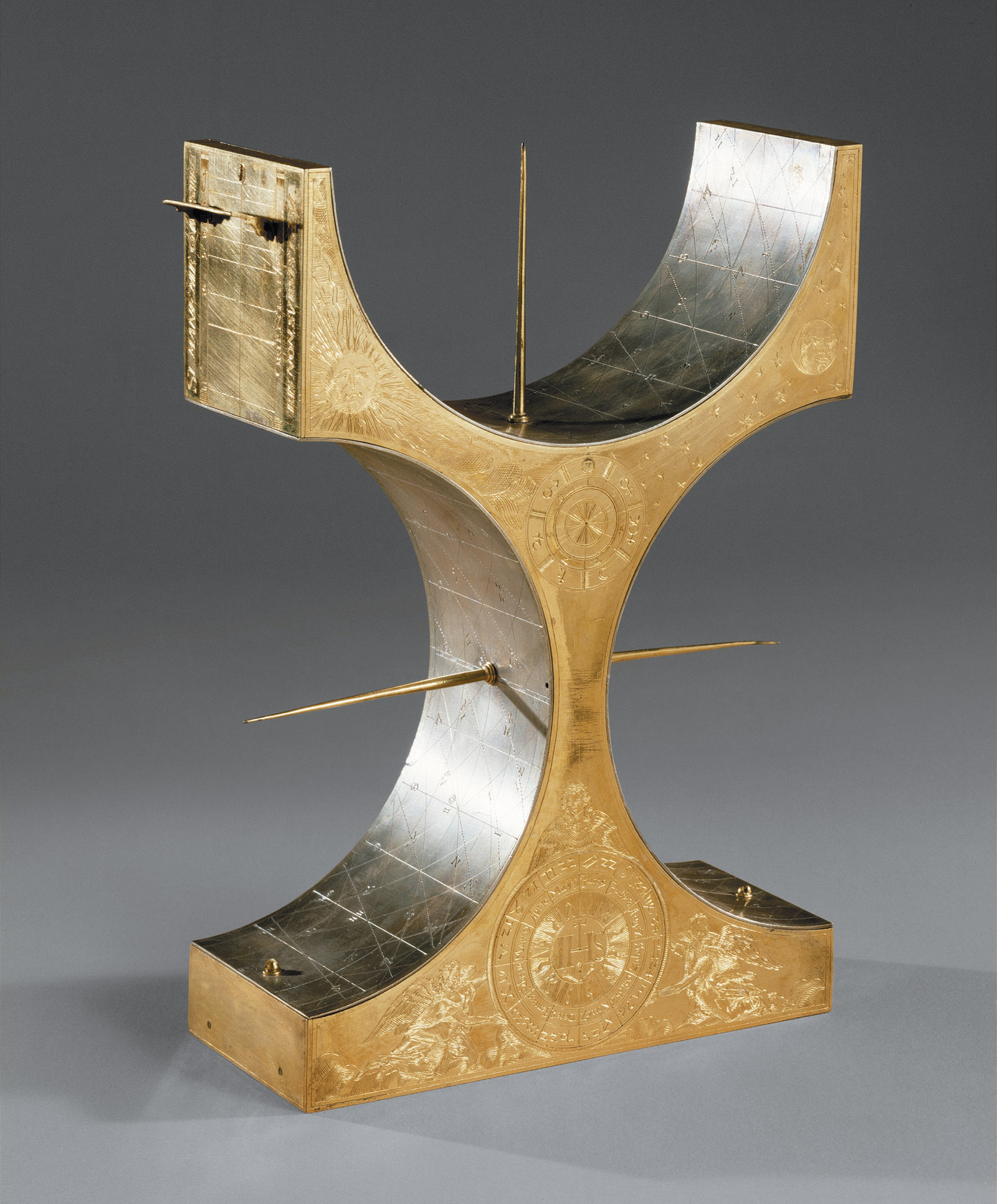 A multifaceted sundial by Wolfgang Mayr, 1604