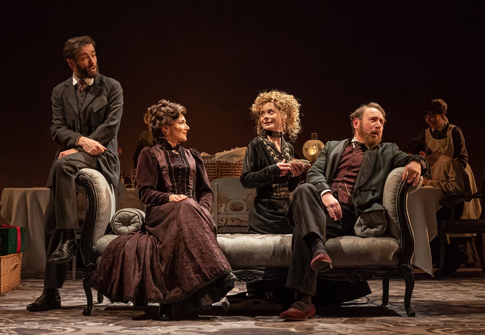 "Actor in Tom Stoppard's play ""Leopoldstadt"""