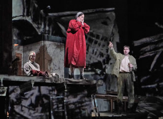Elza van den Heever as Marie and Peter Mattei as Wozzeck in Wozzeck at the Metropolitan Opera
