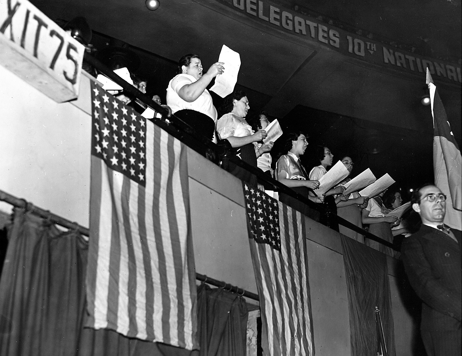 Communist Party Convention, New York City, 1938