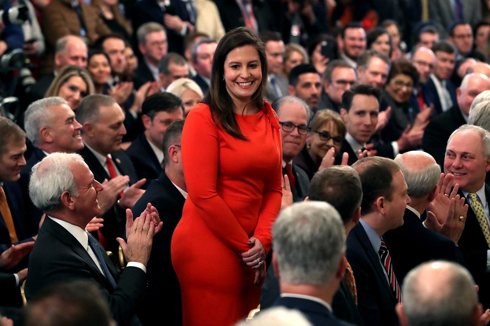 New York Representative Elise Stefanik