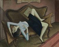Émile François Chambon: Sleeper on her back, 1966–1968