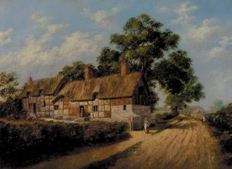 John Theobald Marshall: Anne Hathaway's Cottage, circa 1871