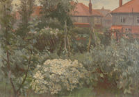 Percy Horton: Suburban Garden, 1921