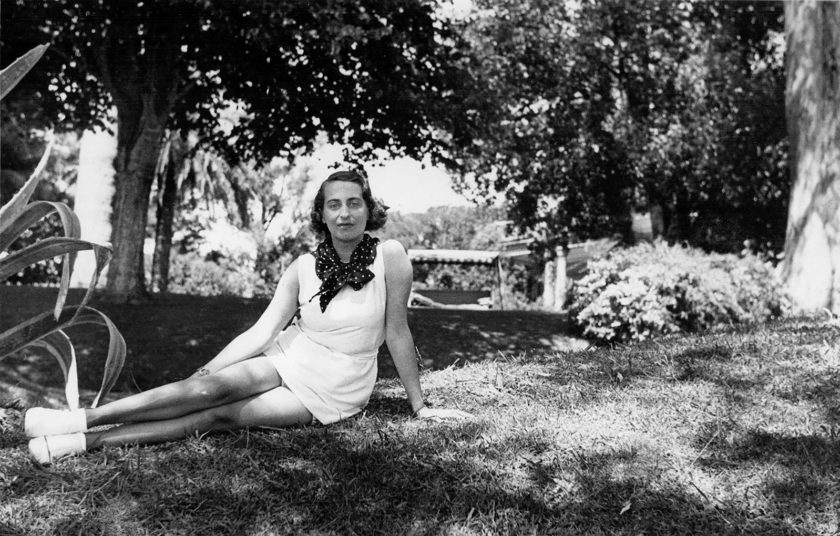 Silvina Ocampo at her family's summer home near Buenos Aires, 1933–1934