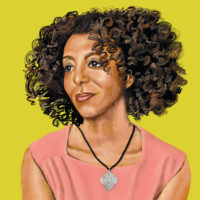 Maaza Mengiste; illustration by Johnalynn Holland