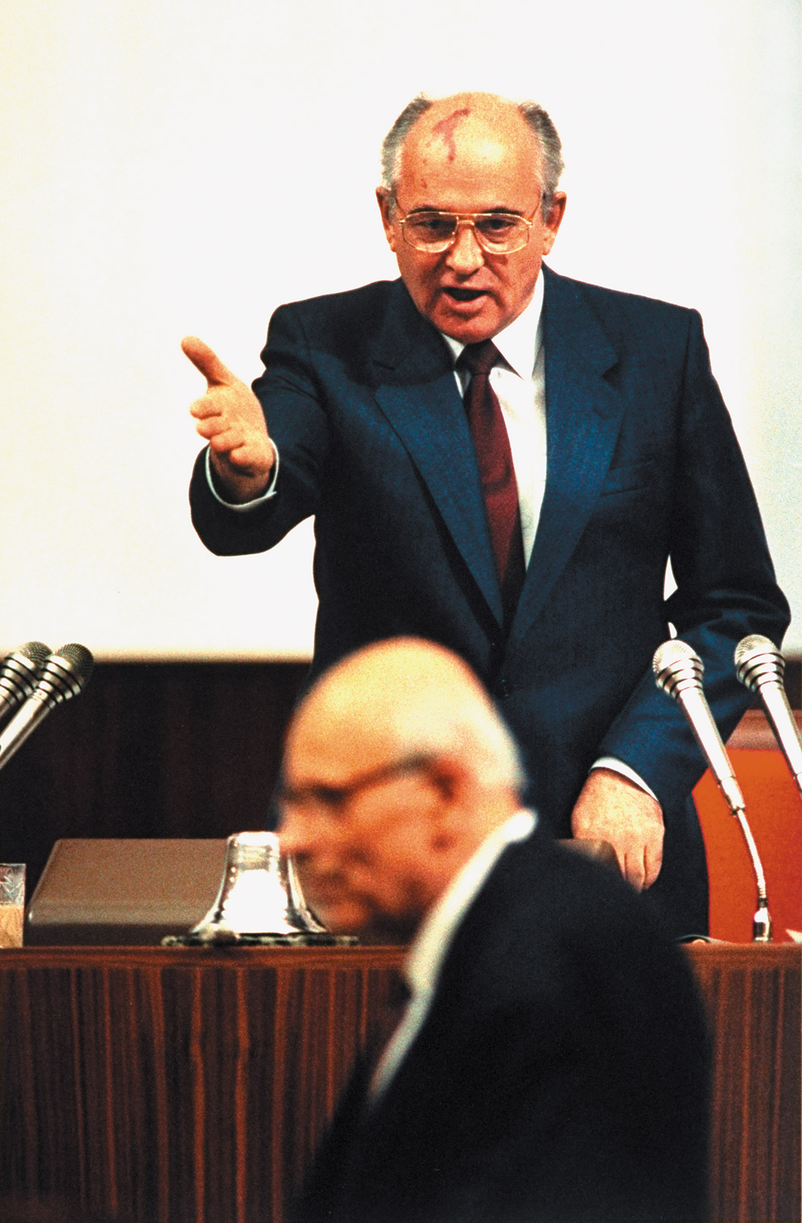 Mikhail Gorbachev and Andrei Sakharov
