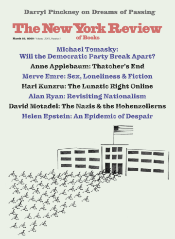 Image of the March 26, 2020 issue cover.
