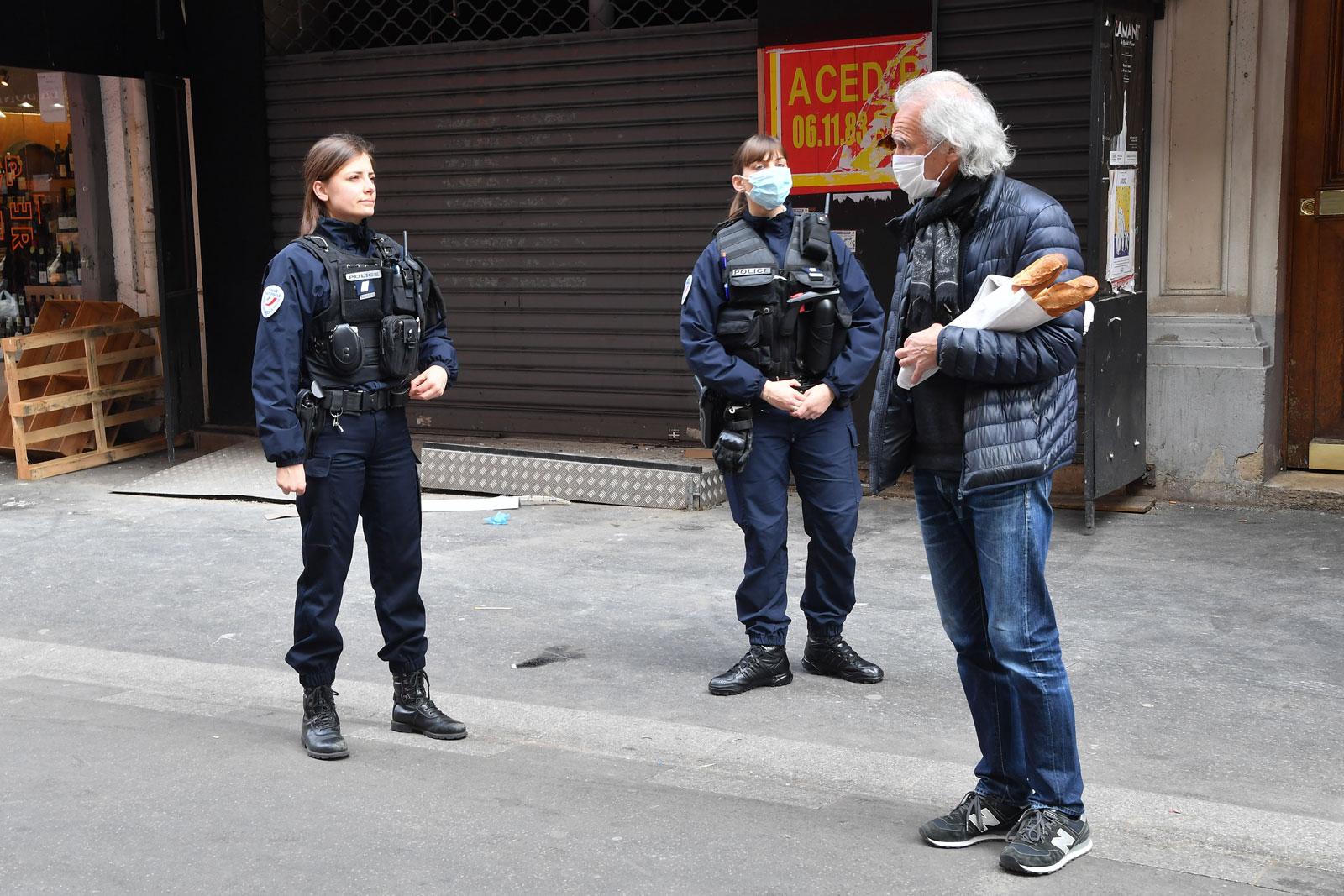 Paris under Covid-19 lockdown