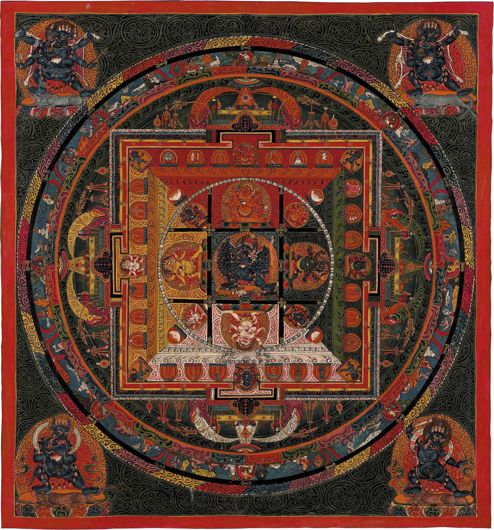 Mandala of Vajrabhairava