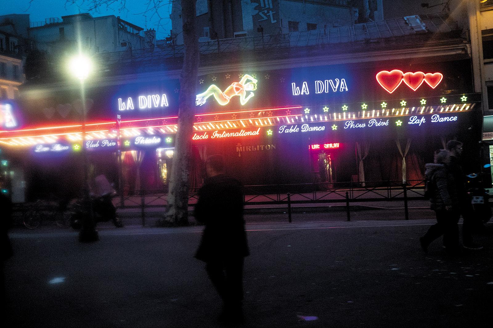Pigalle, Paris's red-light district