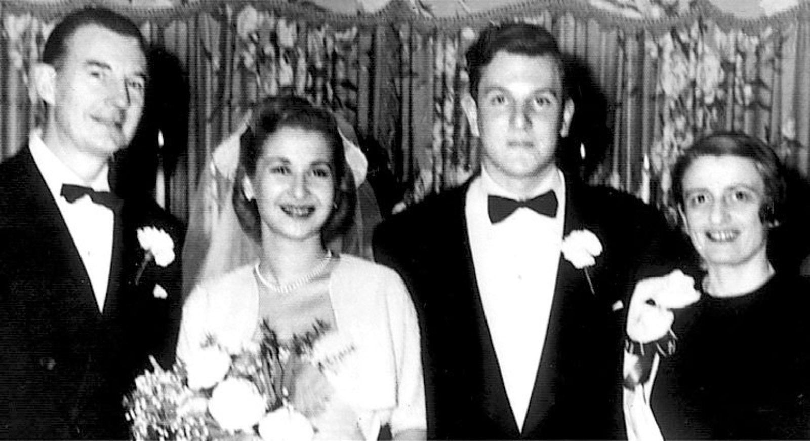 Frank O'Connor, Barbara Branden, Nathaniel Branden, and Ayn Rand
