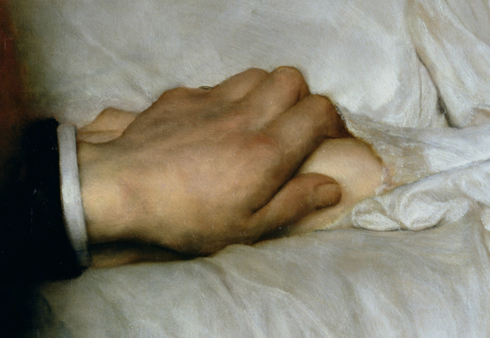 Detail from Lawrence Alma-Tadema's Portrait of Dr. Washington Epps, My Doctor, 1885