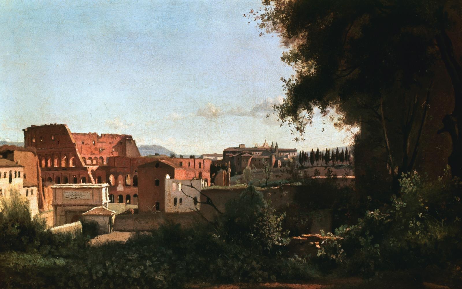 The Hawthornes Visit the Colosseum