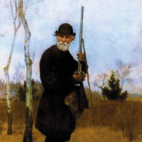 Ivan Turgenev; portrait by Nikolai Dmitriev-Orenburgsky, 1879
