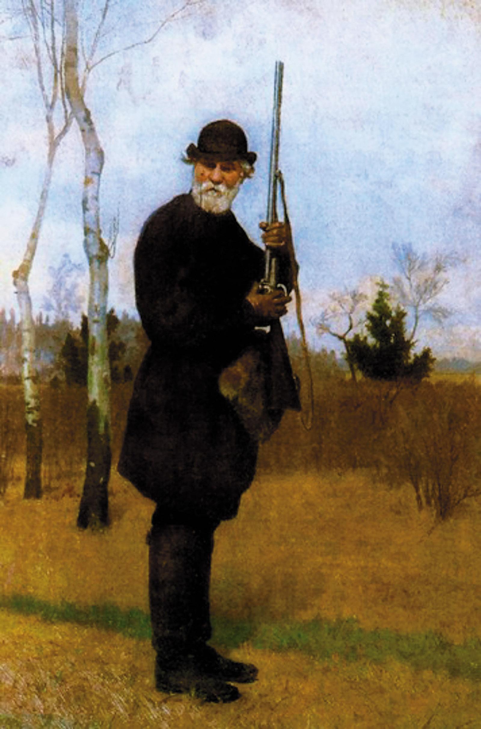 Ivan Turgenev; portrait by Nikolai Dmitriev-Orenburgsky