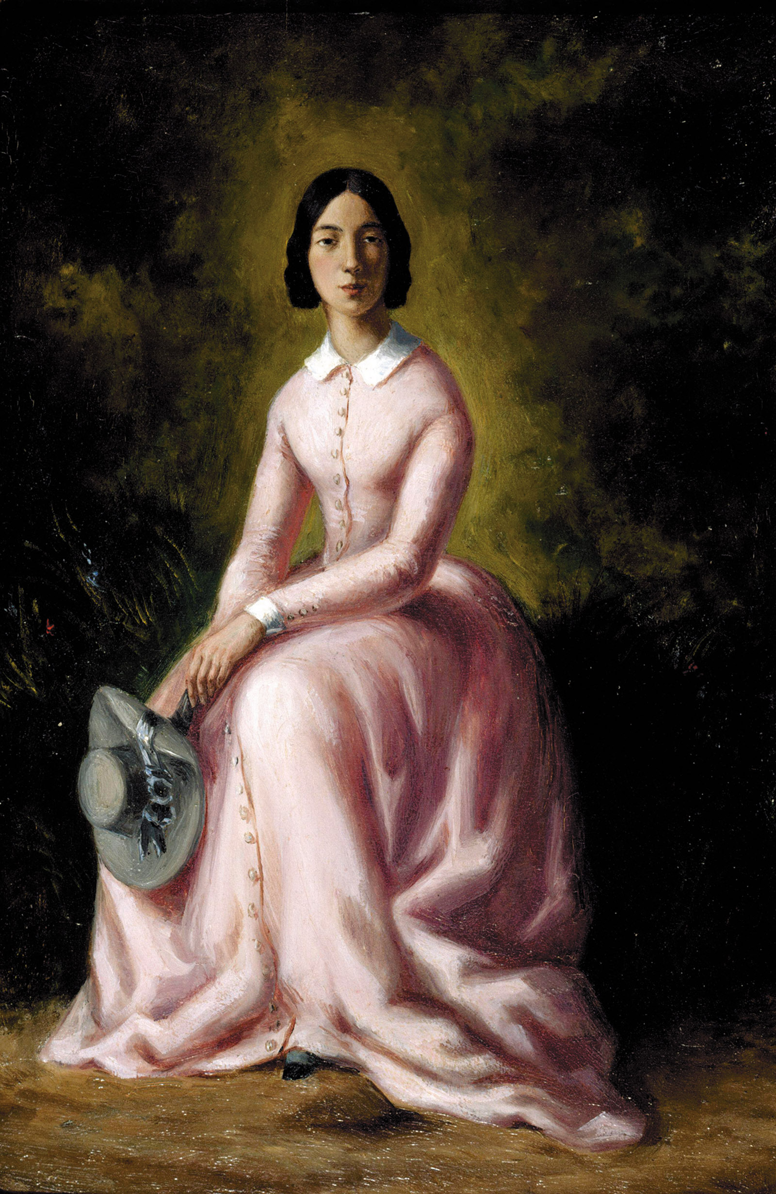 Pauline Viardot; portrait by Maurice Sand