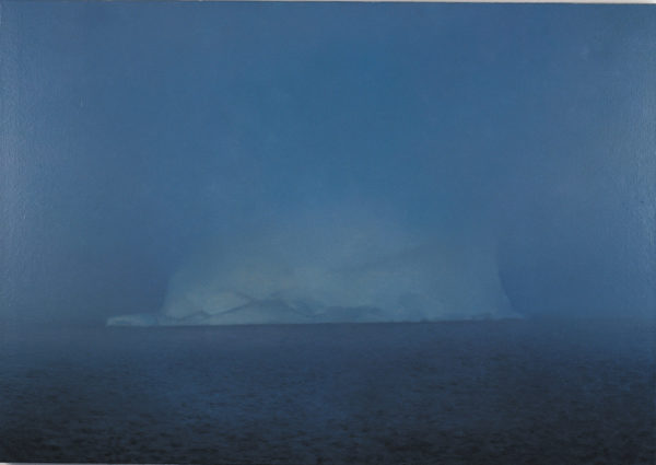 Gerhard Richter: Iceberg in Mist, 1982; from 'Gerhard Richter: Painting After All,' an exhibition at the Met Breuer. For more on the exhibition, see Susan Tallman's essay on pages 4–8 of this issue.