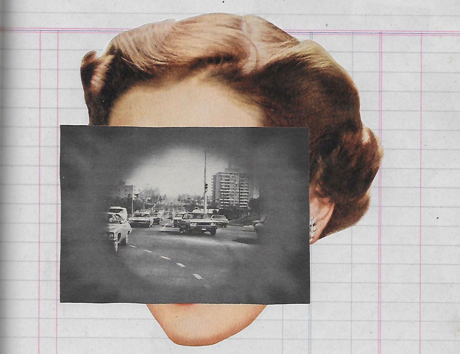 Detail from collage, 2020