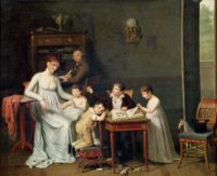 Joseph Marcellin Combette: Portrait of a Family, 1800–1801