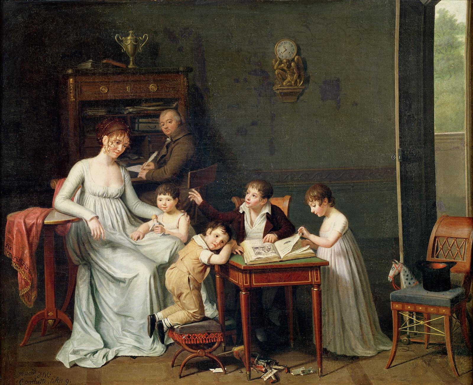 Joseph Marcellin Combette: Portrait of a Family, 1800–1801