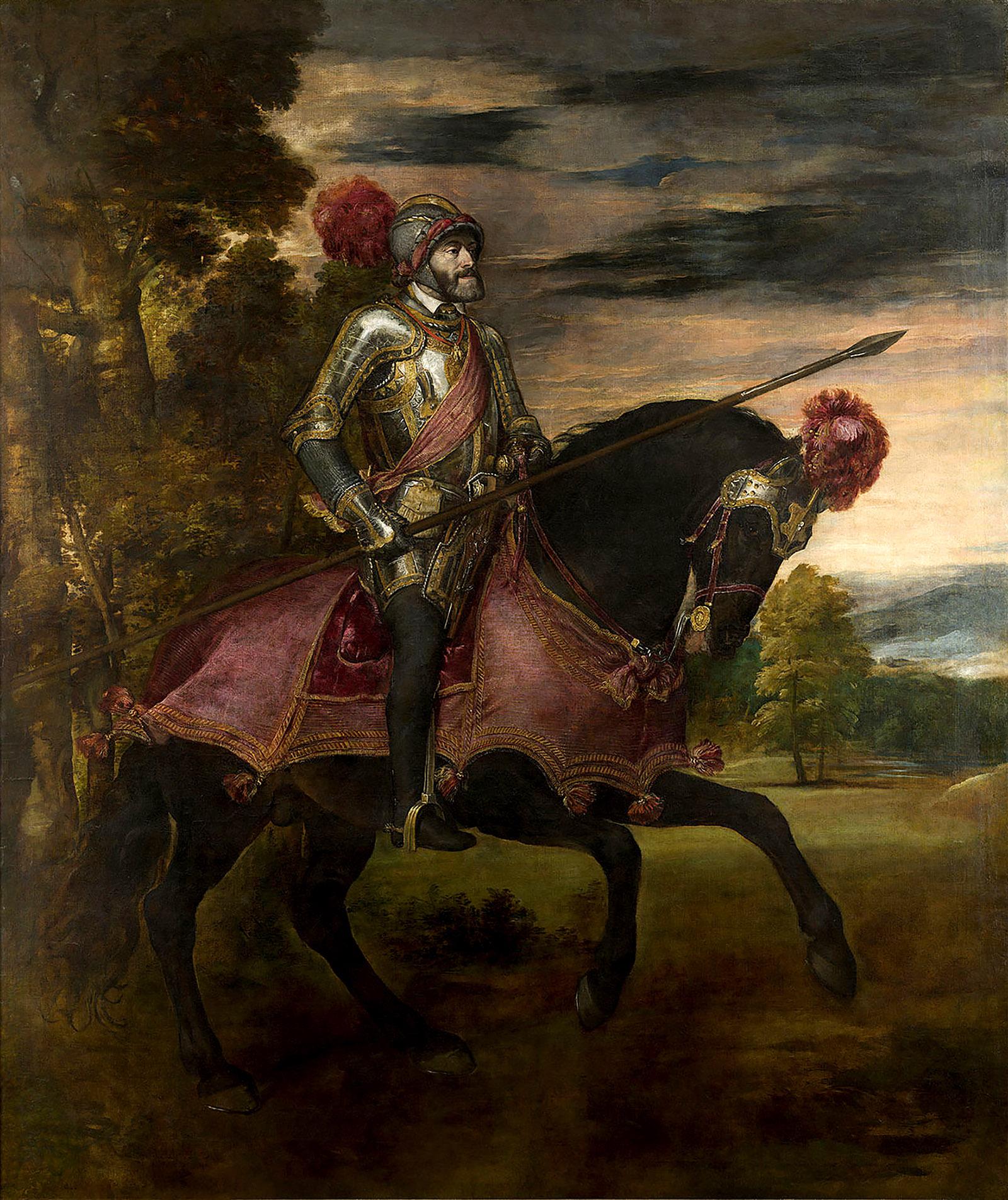 Emperor Charles V at Mühlberg