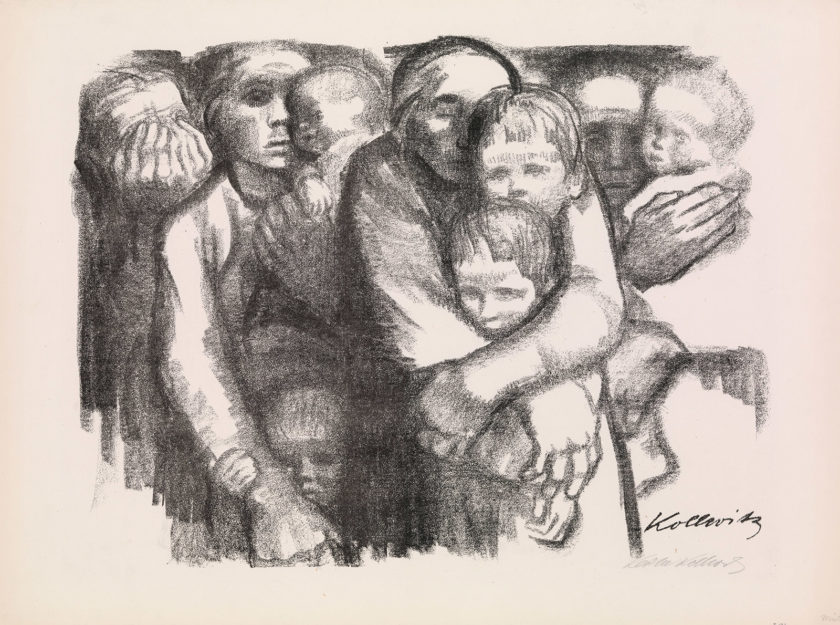 Käthe Kollwitz: Mothers, 1919