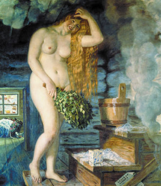 Boris Kustodiev: Russian Venus, 1926