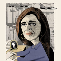 Samantha Power; illustration by Ellie Foreman-Peck