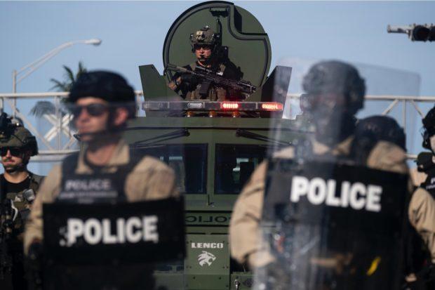 US-POLICE-RACE-UNREST-DEMONSTRATION