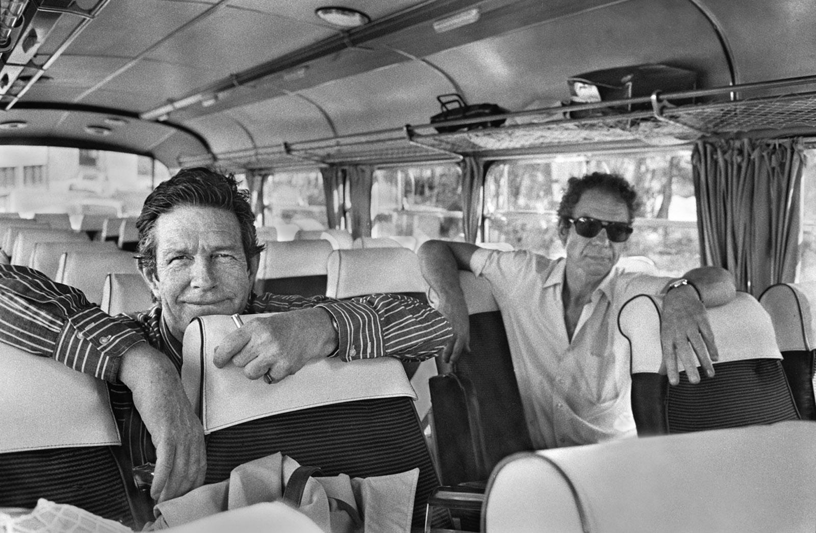 John Cage and Merce Cunningham, France, 1970