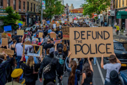 A protest in Brooklyn, New York, June 2, 2020