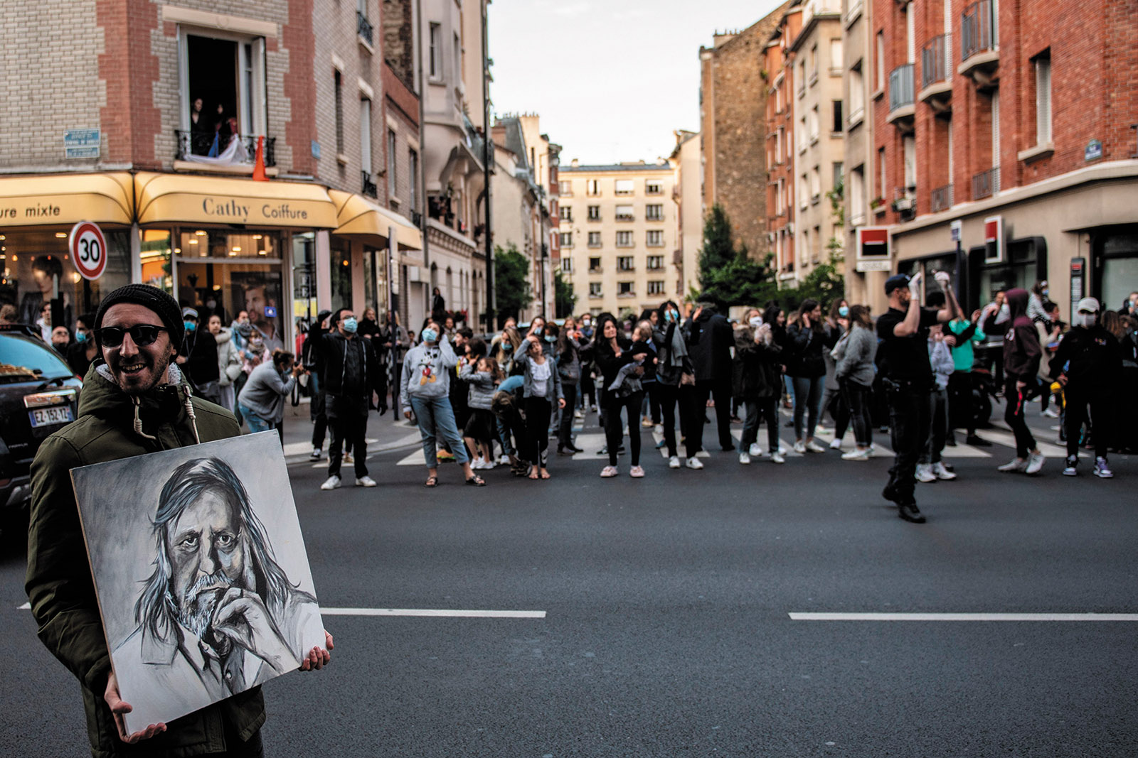 France: After Lockdown, the Street